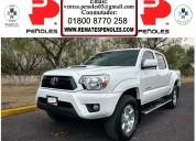 Peñoles vende toyota tacoma 2012 trd  sport  6 cilindros1