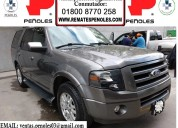 Grupo peñoles vende ford expedition año 2010 5p limited aut 4x2 5.4l piel v8 1