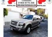 Peñoles vende ford expedition 2009 5p limited automatico 4x4 5.4l piel1