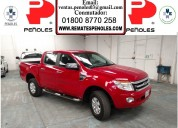Peñoles vende ford ranger 2014 4p pickup xlt doble l4 2.5 manual1
