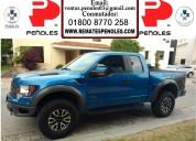 Peñoles vende ford lobo raptor 2013 svt 2p raptor svt super cab 4x41