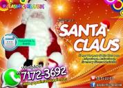 renta de santa claus para eventos navideÑos - df y edomex