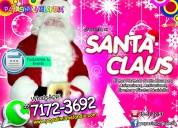 Hermoso santa claus para eventos navideÑos - facturamos