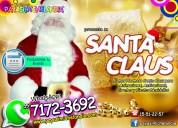 Hermoso santa claus para eventos navideÑos - df y edomex