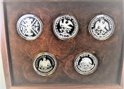 Grupo de monedas de dos onzas, 500 aÑos de la llegada de los espaÑoles