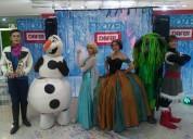 Show de frozen en puebla para fiestas
