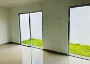 casa nueva en privada con alberca en zona country 3 dormitorios 123 m2
