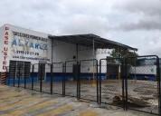 Local o taller mecanico comercial en renta circuito colonias tanlum 437 m2
