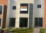 Se renta casa nueva y amueblada en privada con 3 rec zona oriente norte 3 dormitorios 95 m2