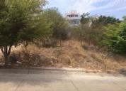 Terreno en venta fraccionamiento colinas de san miguel 240 m2
