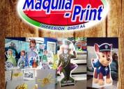 Maquila print - impresion digital