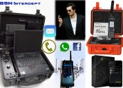 Interceptores de celular, telefonos satelitales y celulares encriptados
