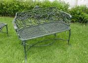 Muebles de jardin de aluminio