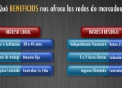 multinivel, con excelentes ingresos