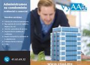 Administración de edificios residenciales y comerciales