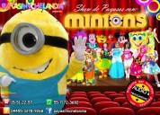 Payasos con personajes para tu fiesta - df/edomex