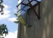 Extraccion de  aire,fabricacion  de ductos