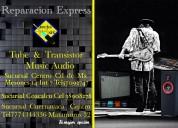 Reparacion venta cambio de equipo musical en cuernavaca