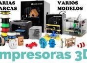 Impresoras 3d profesionales e industriales al mejor precio incomparable