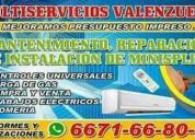 Refrigeracion recidencial, electricidad y plomeria