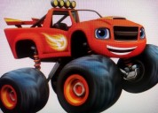 Blaze and the monster machines show infantil cdmx