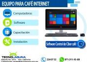 Venta de equipo para cafÉ internet gp d