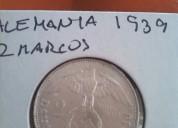Moneda alemania nazi plata 2 marcos 1939