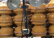 Torres de iluminacion de 4 lamparas 1000w c/u