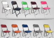 sillas infantiles acojinadas