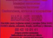 masajes hugo. relajantes, tantricos y eróticos.