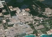 Terreno avenida 58 norte cerca universidad riviera maya 1 hectarea 10000 m2