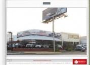 local comercial ideal lote de autos 703 m2
