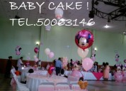 Decoraciones y animaciones para baby shower