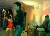Orquesta de salsa para fiestas desde 3 horas