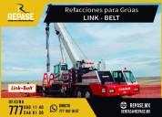 Refacciones para grÚas link belt
