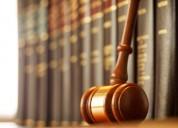 Servicios jurÍdicos de derecho penal general