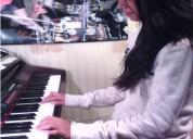 clases de piano. en sábado.