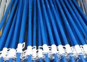 Puntales metalicos tipo cuerda