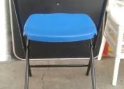Nuevo modelo silla plegable en color azul