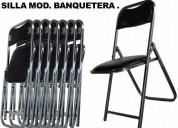 Linea de sillas acojinadas precio de fabrica