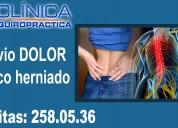 Síntomas hernia de disco. clinica quiropractica