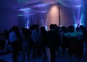 Dj, iluminación y pistas para fiestas, xvaños, boda