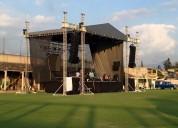 Renta de escenario para ferias teatros del pueblo eventos masivos