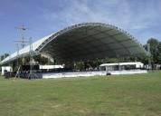 Renta de domos gigantes para eventos