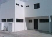 En renta town house en privada en el norte de merida 2 dormitorios 90 m2