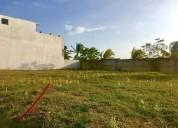 Hermoso terreno en venta en residencial lomas diamante en alvarado