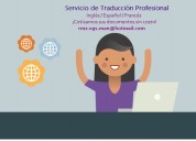 Servicio de traducción profesional