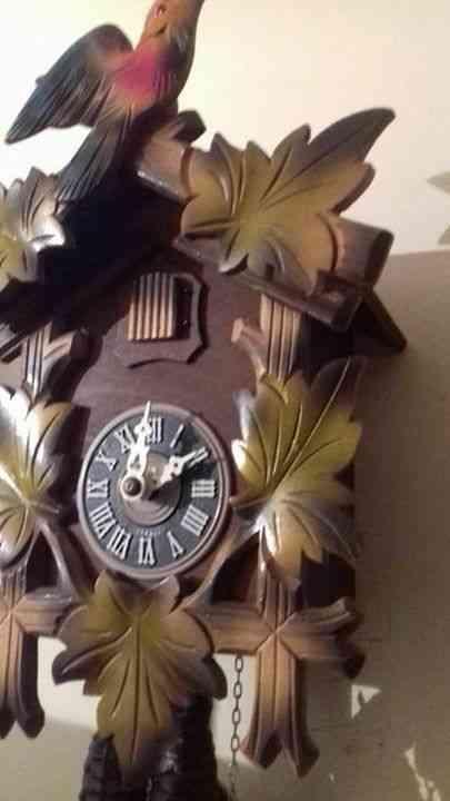 Reloj cucú aleman original vintage