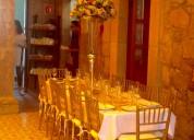 Salón colonial para fiestas