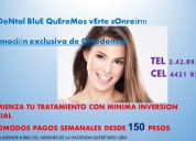 Ortodoncia , comodos pagos semanales